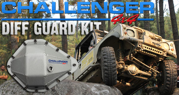 Challenger 4x4 Heavy Duty Diff Guard Kit