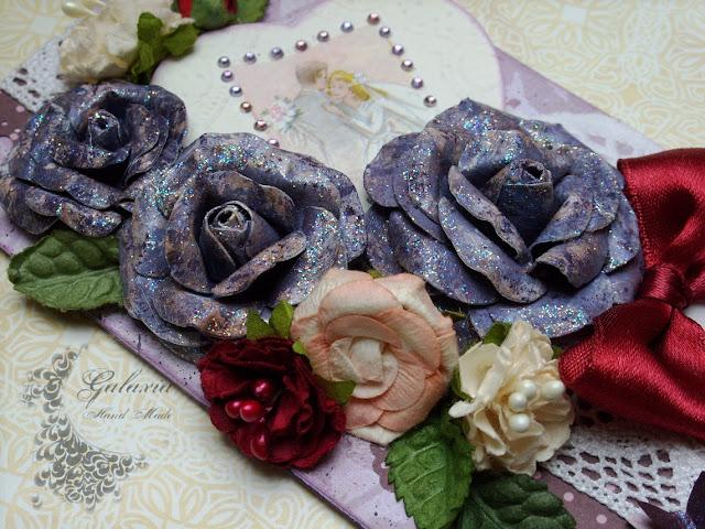 Ślub w fioletach...