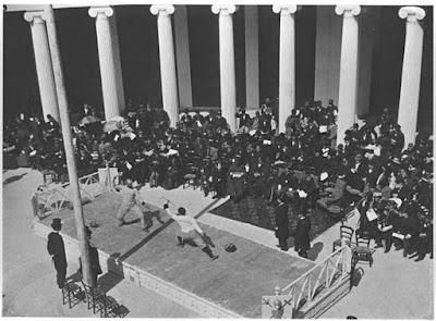Competición esgrima Atenas 1896