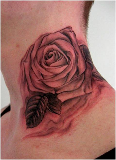 trend tattoo styles unique rose tattoo