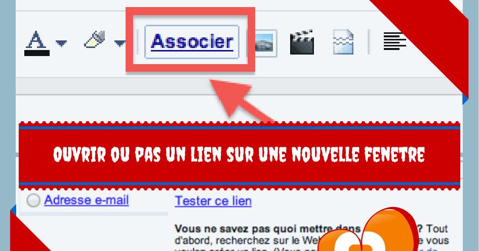 Blogger ouvrir ou pas les liens sur une nouvelle fen tre for Ouvrir un lien dans une nouvelle fenetre