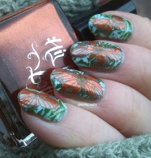 UberChic Beauty UC 3-01, Messy Mansion MM42 Mentality Hope, HTB Copper Haired Girl, A England Virgin Queen