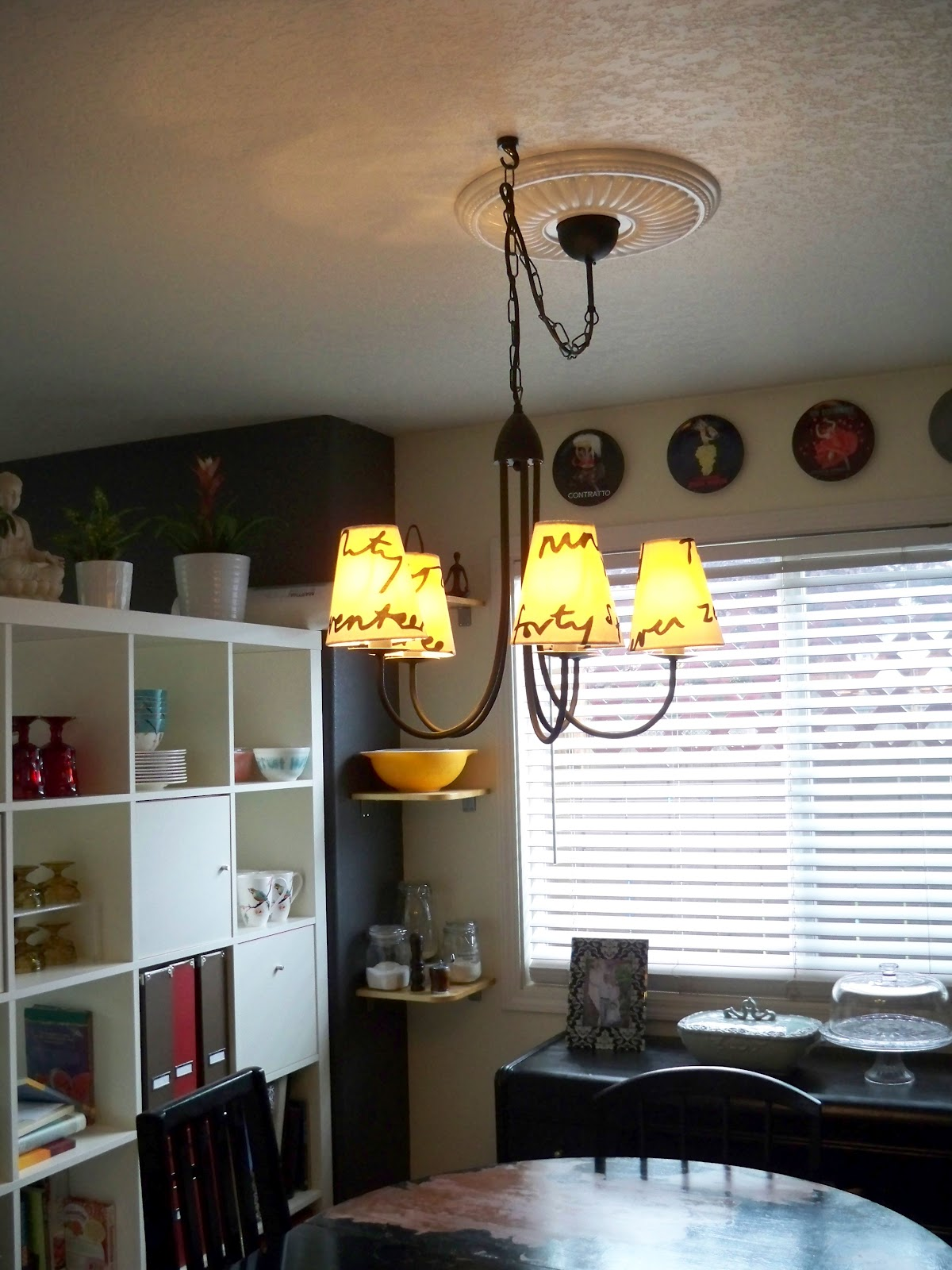 Be Sweetly Inspired Dining Light Update