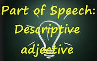 Descriptive Adjective dan Contoh Kalimat