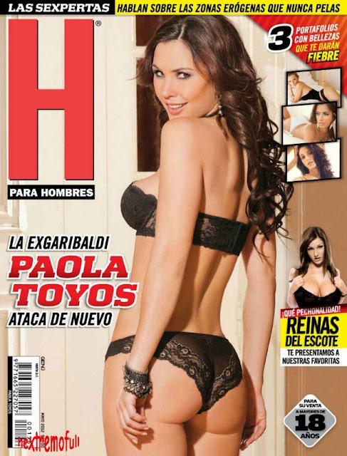 Portada Paola Toyos Revista H Mayo 2012-soloreovistah.com