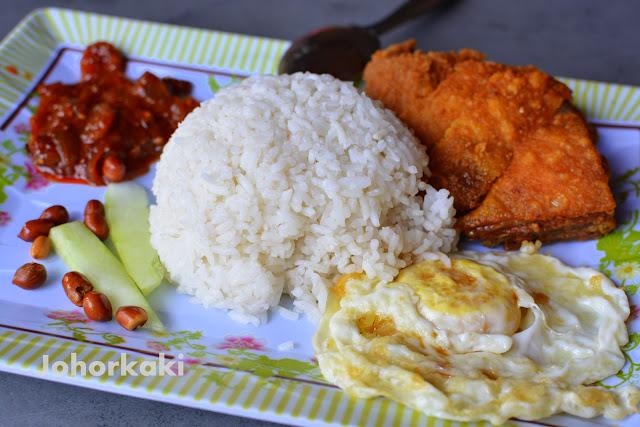 Johor-Nasi-Lemak-Happy-Land-Cafe-Kulai