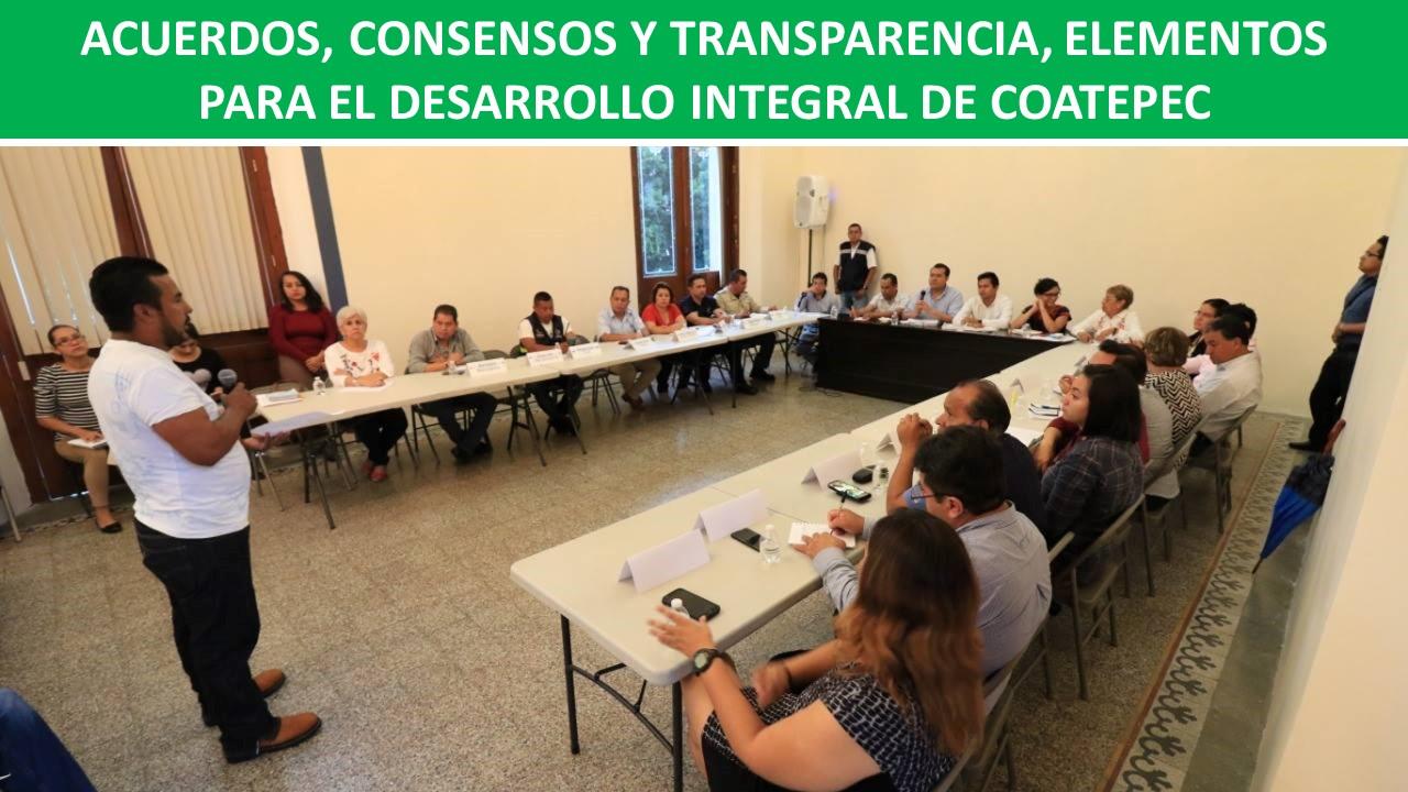 PARA EL DESARROLLO INTEGRAL DE COATEPEC