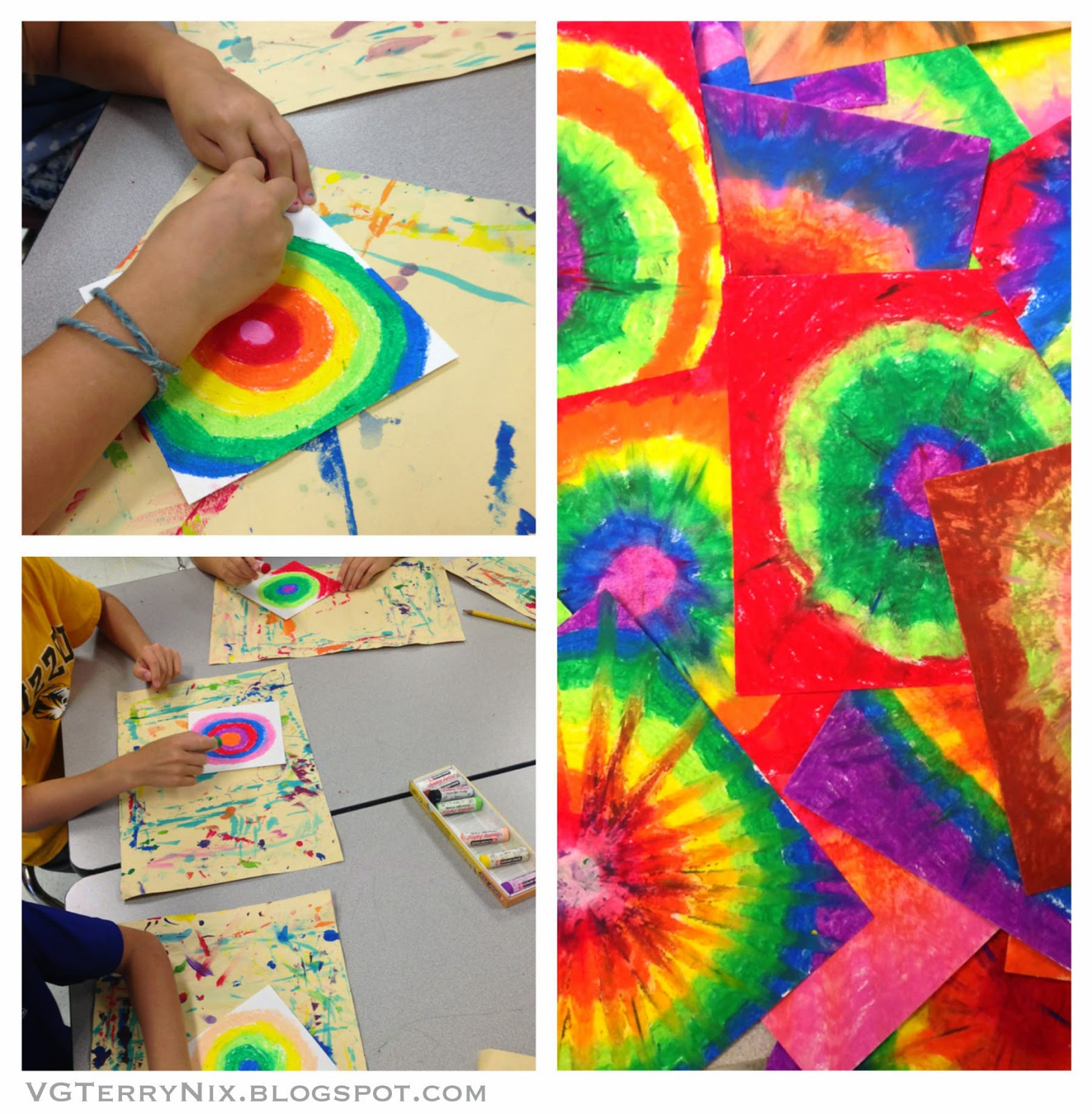 First Each Student Creates A Color Scheme We Talked About The