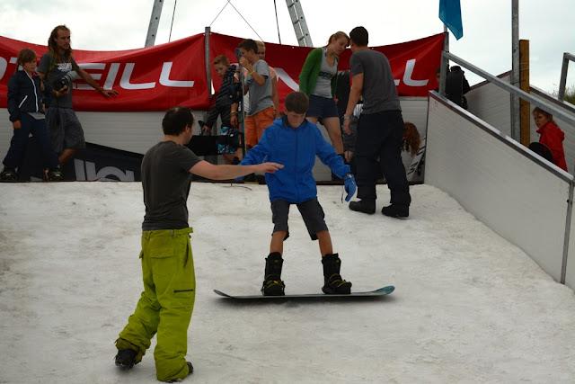 O'Neill Beach club Blankenberge Snowboarding instruction