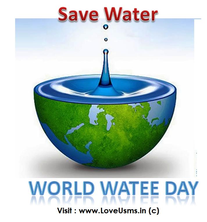 world Water Day status quotes whatsapp image