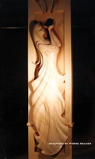 "pierre rouzier_""athena"" sculpture"