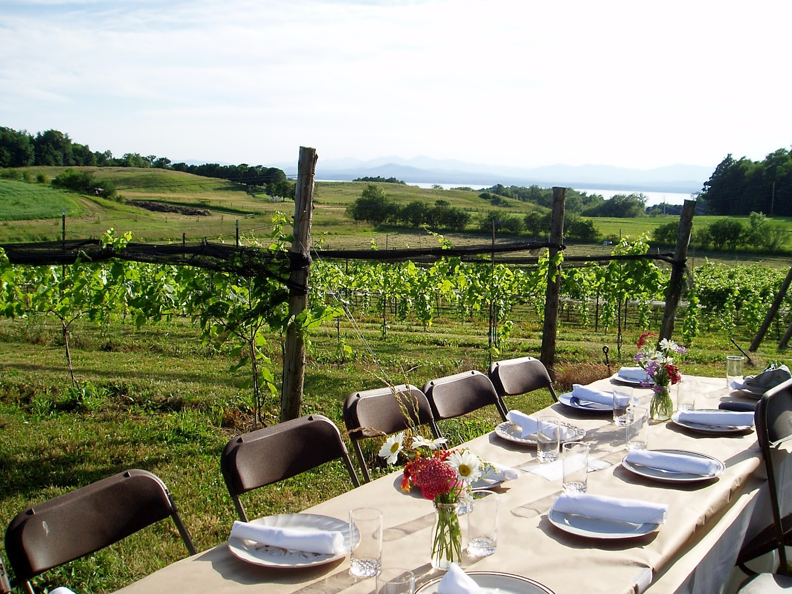 the vermont epicure a dinner with a view