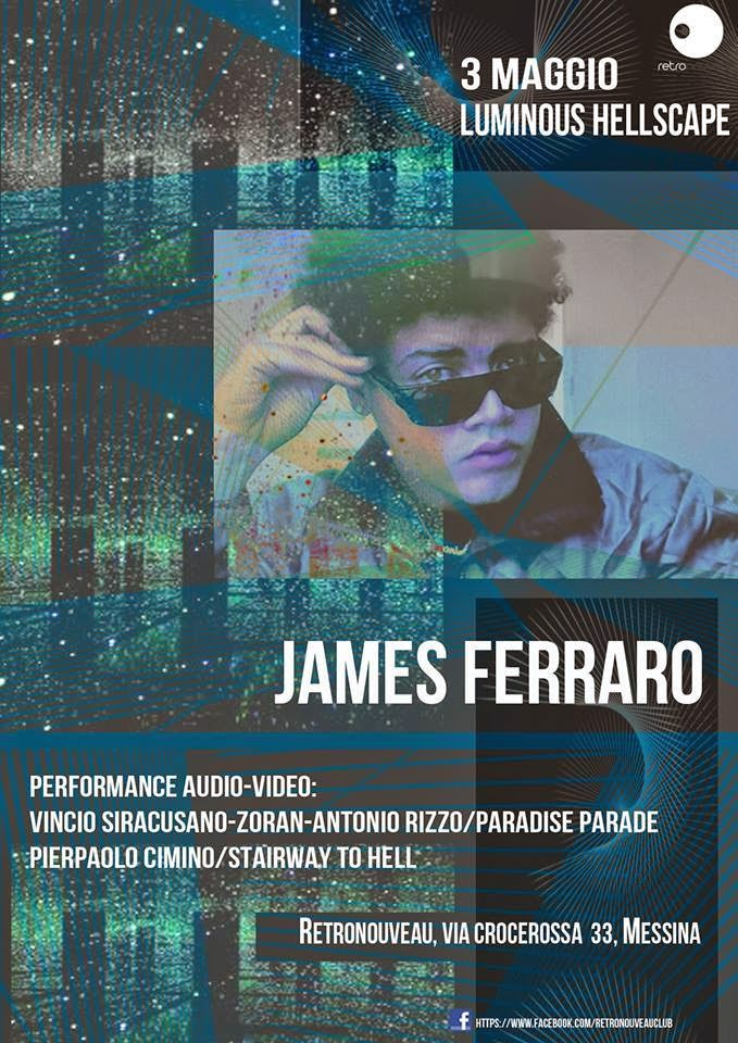 JAMES FERRARO IN CONCERT AL RETRONOUVEAU