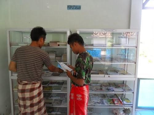 Perpustakaan LP Terbuka Nusakambangan