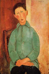 Modigliani Boy: Amedeo Modigliani