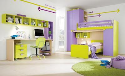 стрелки в дизайне комнаты для девушки подростка фото