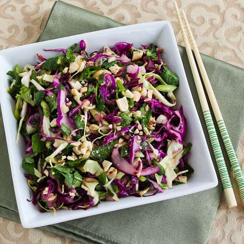 ... Kitchen®: Thai-Style Spicy Cabbage Slaw with Mint and Cilantro