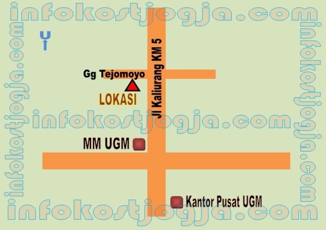 info Kost Putri di Jalan Kaliurang