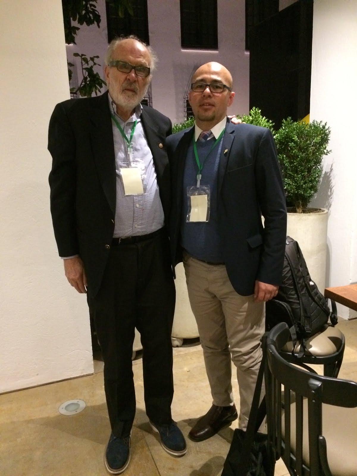 con Omar Soto Rodriguez