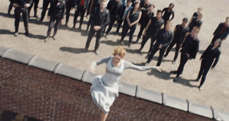 Divergent Movie Stills First Jumper Tris