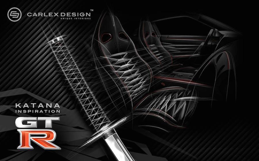 日本刀からインスピレーションを得てカスタムされた日産GT-Rがスゴい