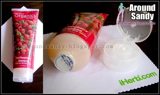 Desert Essence - Red Raspberry shampoo iherb sin siliconas champú