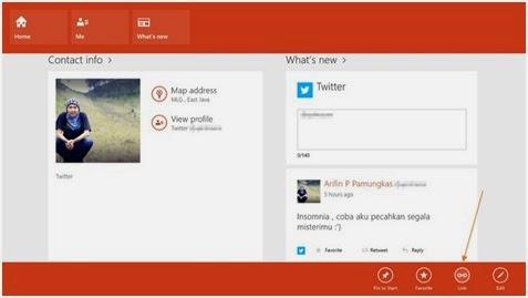 Tips Tentang Cara Menghubungkan Akun di Aplikasi People Windows 8