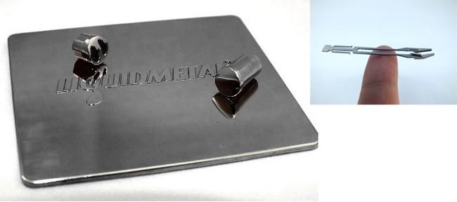 iPhone 5S and iPad 5 super hard shell made of liquid metal ...