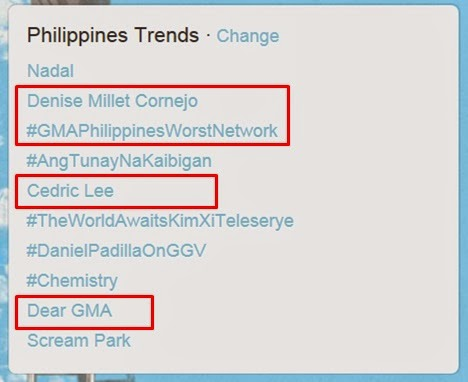 Denise Millet Cornejo trends on Twitter