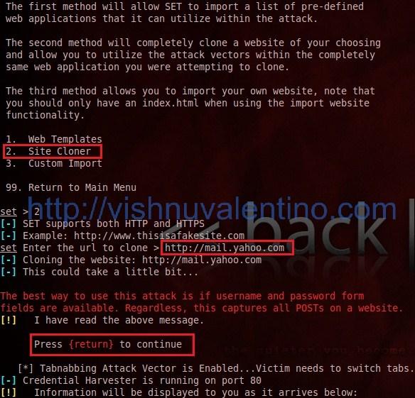 TABNABBING ATTACK: Social Engineering Tabnabbing Attack + Ettercap ...