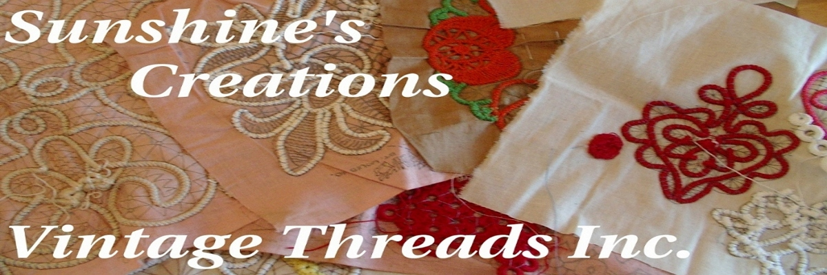 Sunshine&#39;s Creations.Vintage Threads Inc.