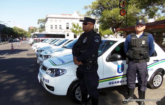 Guarda Municipal de Aracaju recebe novas viaturas
