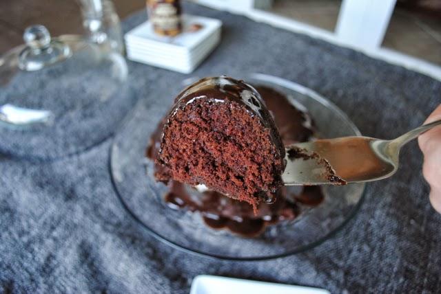 Vegan Chocolate Bundt Slice