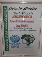 PRÊMIO MASTER SUL BRASIL - 2012