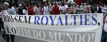 Rio sem royalties e o fim do mundo / Rio without royalties is the end of the world.