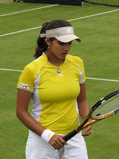 Ace tennis player Sania Mirza