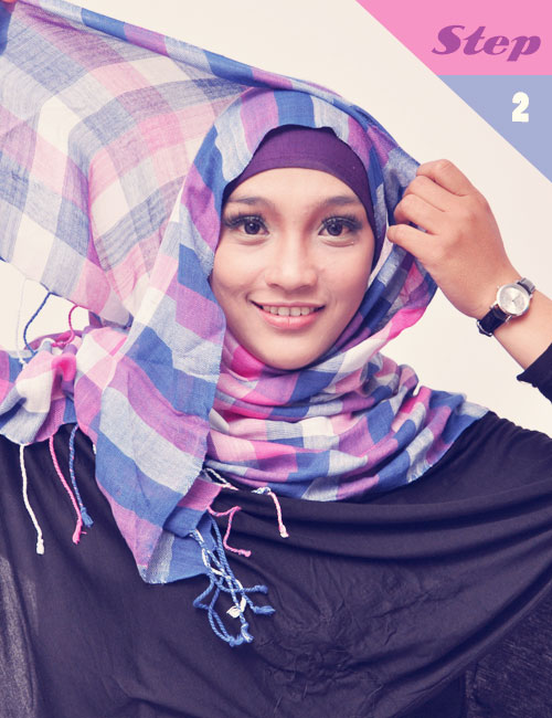 jilbab panjang cara memakai jilbab page 2 cara memakai