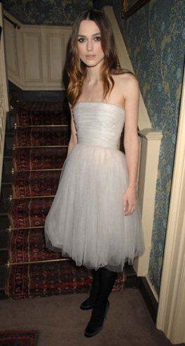 Vestido de novia keira knightley