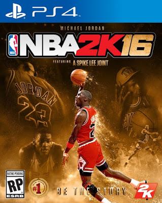 NBA 2k16 Michael Jordan Special Edition Cover XBOX ONE Hoopsvilla.com