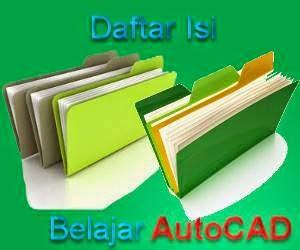 Cara menggambar dengan AutoCAD