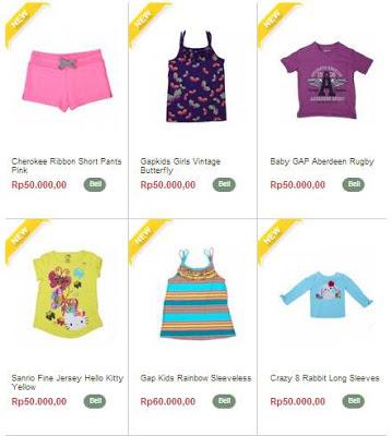 Cari Baju Anak Branded Lengkap?  Disini Saja!