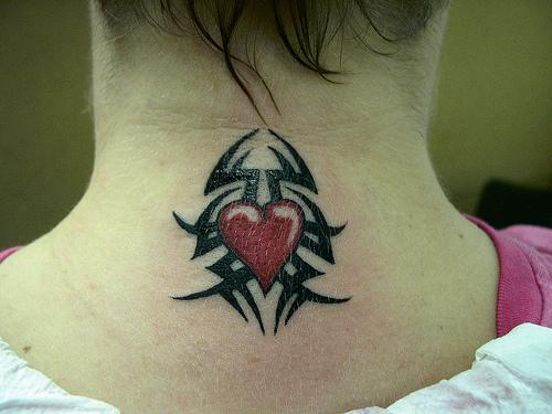 Tattoo Designs For Men On Neck