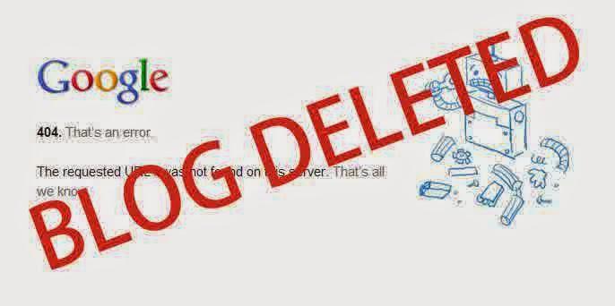 Cara Mengembalikan Blogspot Yang Dihapus Blogger