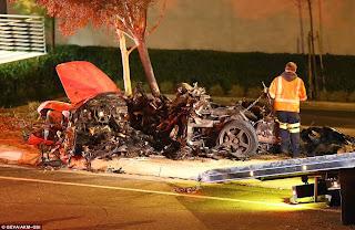 Foto2 Kecelakaan Paul Walker