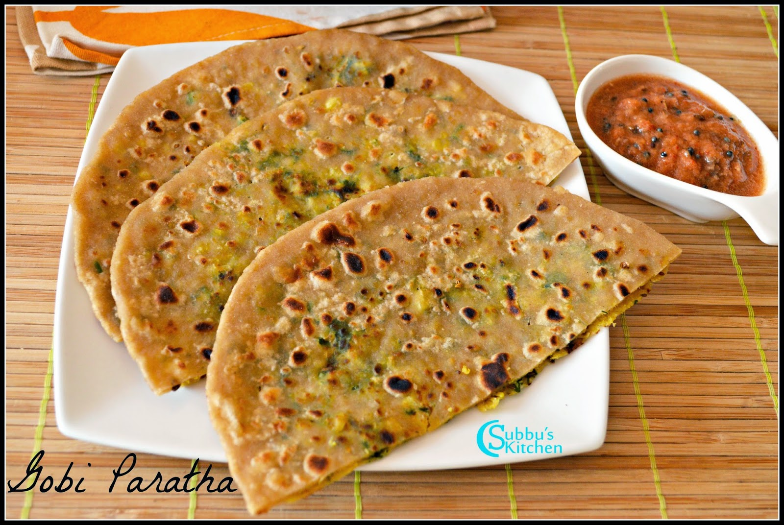 Image result for gobi paratha