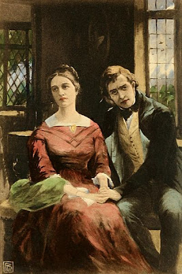 Dorothea Brooke and Will Ladislaw from Middlemarch by George Eliot