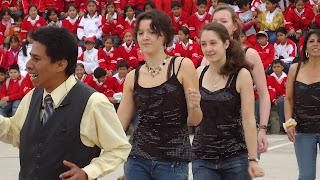 Víctor, Carina, Isabela, Marìa y Marialuz