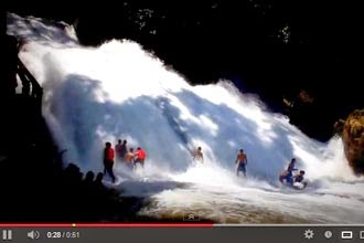 video air terjun bantimurung