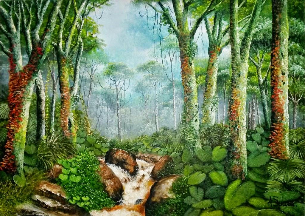 cuadro-de-paisaje-selvatico-de-adolfo-suaza