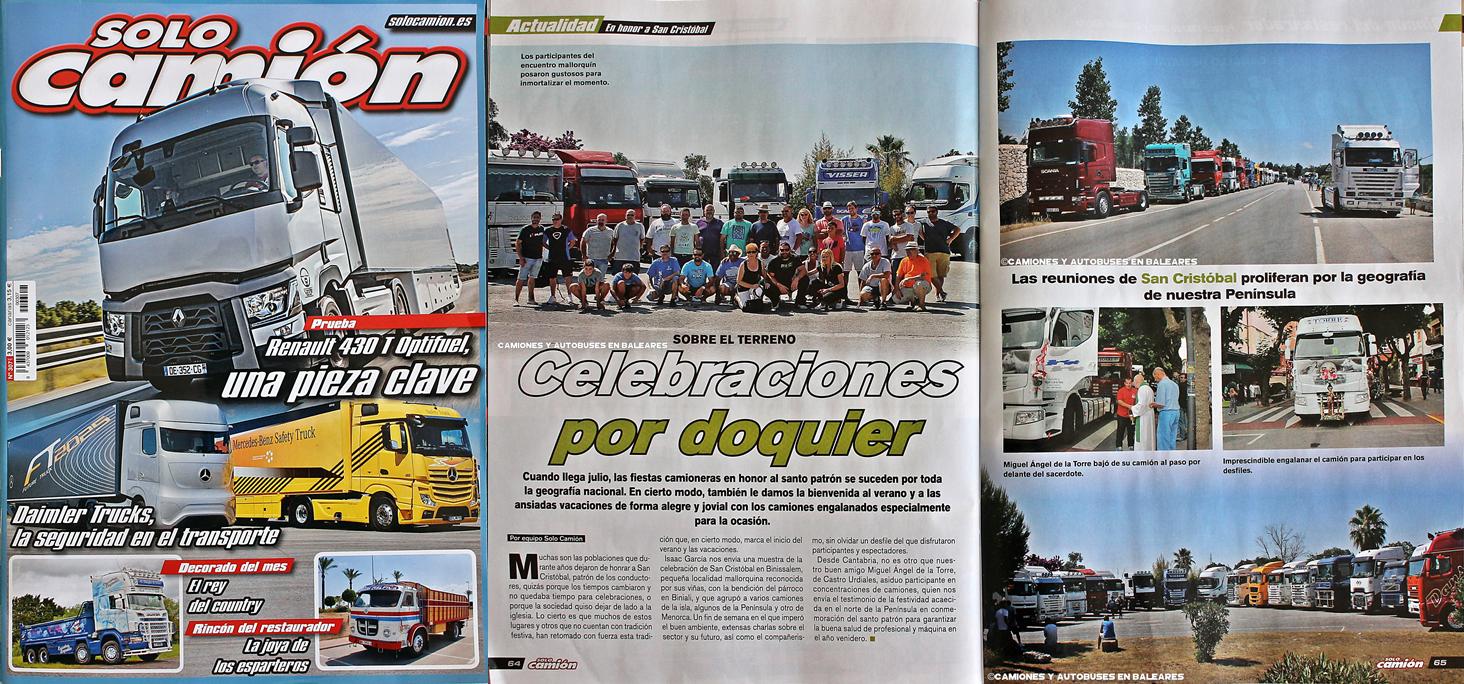 San Cristóbal 2015 en la Solo Camión!
